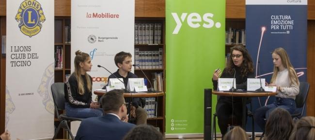 Qualche spunto di riflessione sul progetto La gioventù dibatte